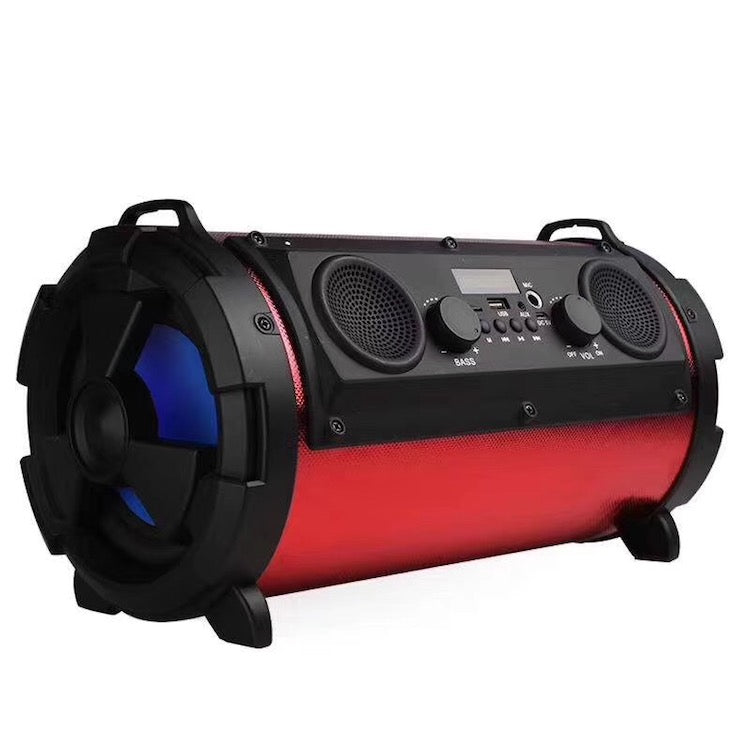 Bazooka Portable Outdoor Speaker Bluetooth Connectivity 2x5 Inch +2x 2.5 Inch Speakers - Pickhud