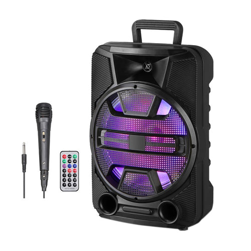 1000 Watts P.M.P.O 12 Inch Woofer Party Speaker Bluetooth Connectivity FM Radio with Microphone - Pickhud