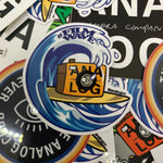 Load image into Gallery viewer, the film wave analog sticker