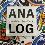 Load image into Gallery viewer, analog camera company white logo