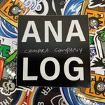 Load image into Gallery viewer, analog camera company black logo