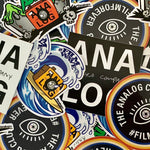 Load image into Gallery viewer, analog camera company sticker pack merch