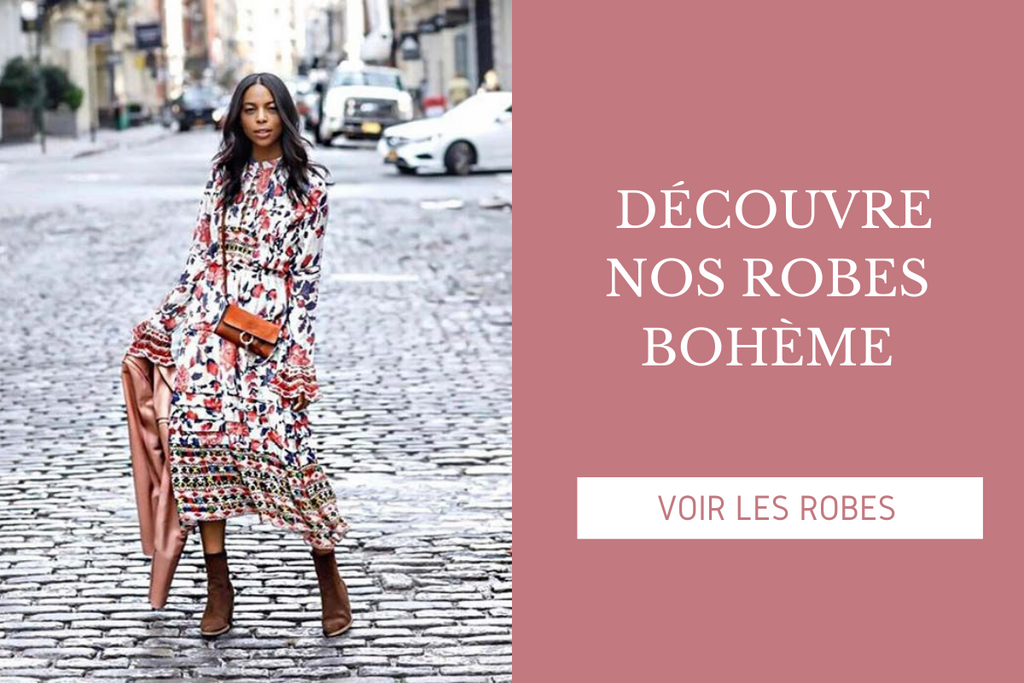 COLLECTION DE ROBE BOHEME