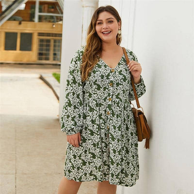 Robe Grande Taille Chic Cocktail