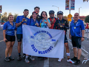 Pueblo Road Warriors Cycling Club Donation