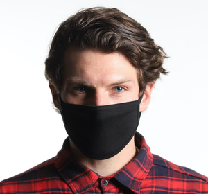 "Black Mask Bulk Packs 5"" L/XL"