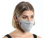 "Light Grey Masks Bulk Pack 5"" L/XL"
