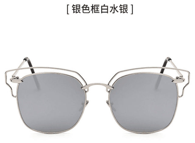 2019 Designer Fashion Twin Beam Sunglasses