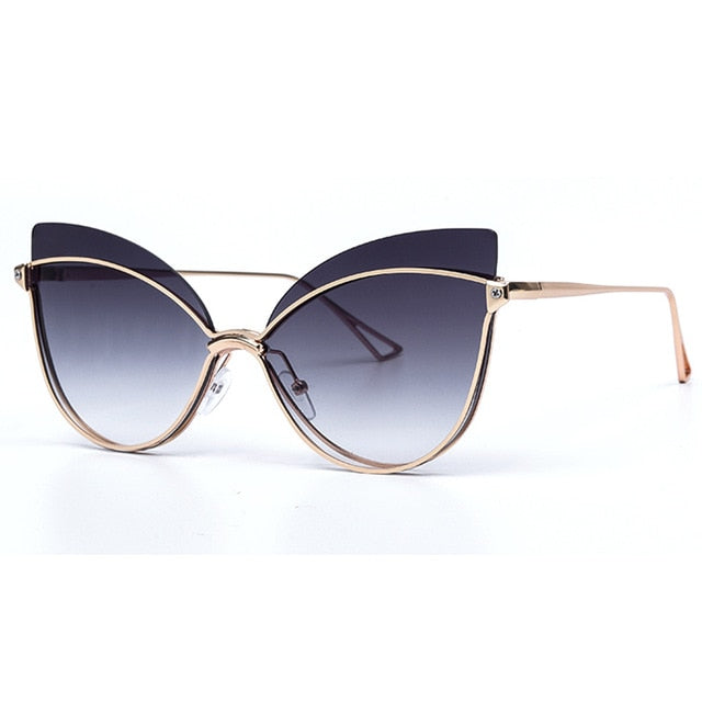 2019 Fashion Butterfly Cat Eye Female Eyeglasses