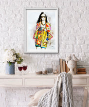 Load image into Gallery viewer, Dolce&Gabbana Fashion Illustration Watercolor Art - OKSI Fine Art