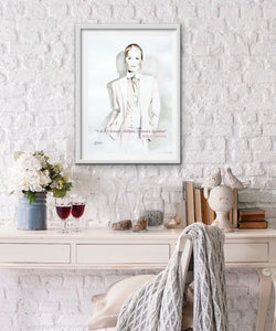 Ralph Lauren Fashion Illustration Watercolor Art - OKSI Fine Art