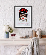 Load image into Gallery viewer, Love D&G Fashion Illustration Watercolor Art - OKSI Fine Art