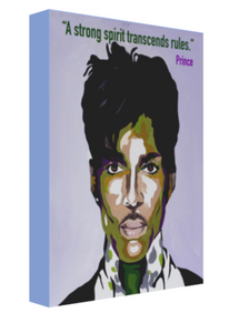 Portrait of Prince Canvas Art - OKSI Fine Art