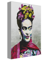 Load image into Gallery viewer, Portrait of Frida Canvas Art - OKSI Fine Art