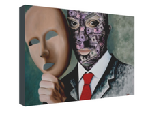 Load image into Gallery viewer, Under Human Mask ART - OKSI Fine Art