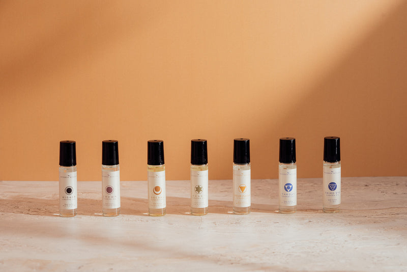 THE CHAKRA OIL BALANCING SET