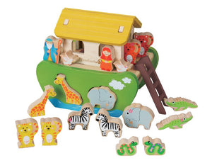 Noah's Ark shape sorting set