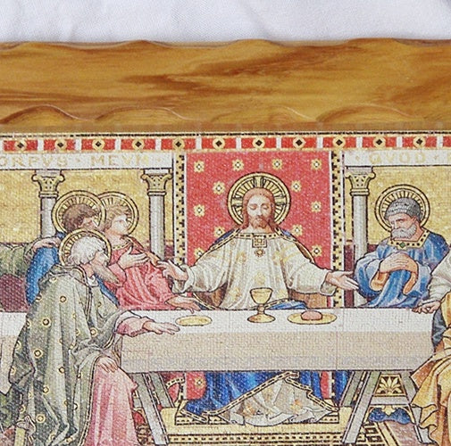 Last Supper framed canvas print