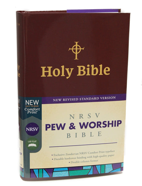 NRSV hard cover Bible