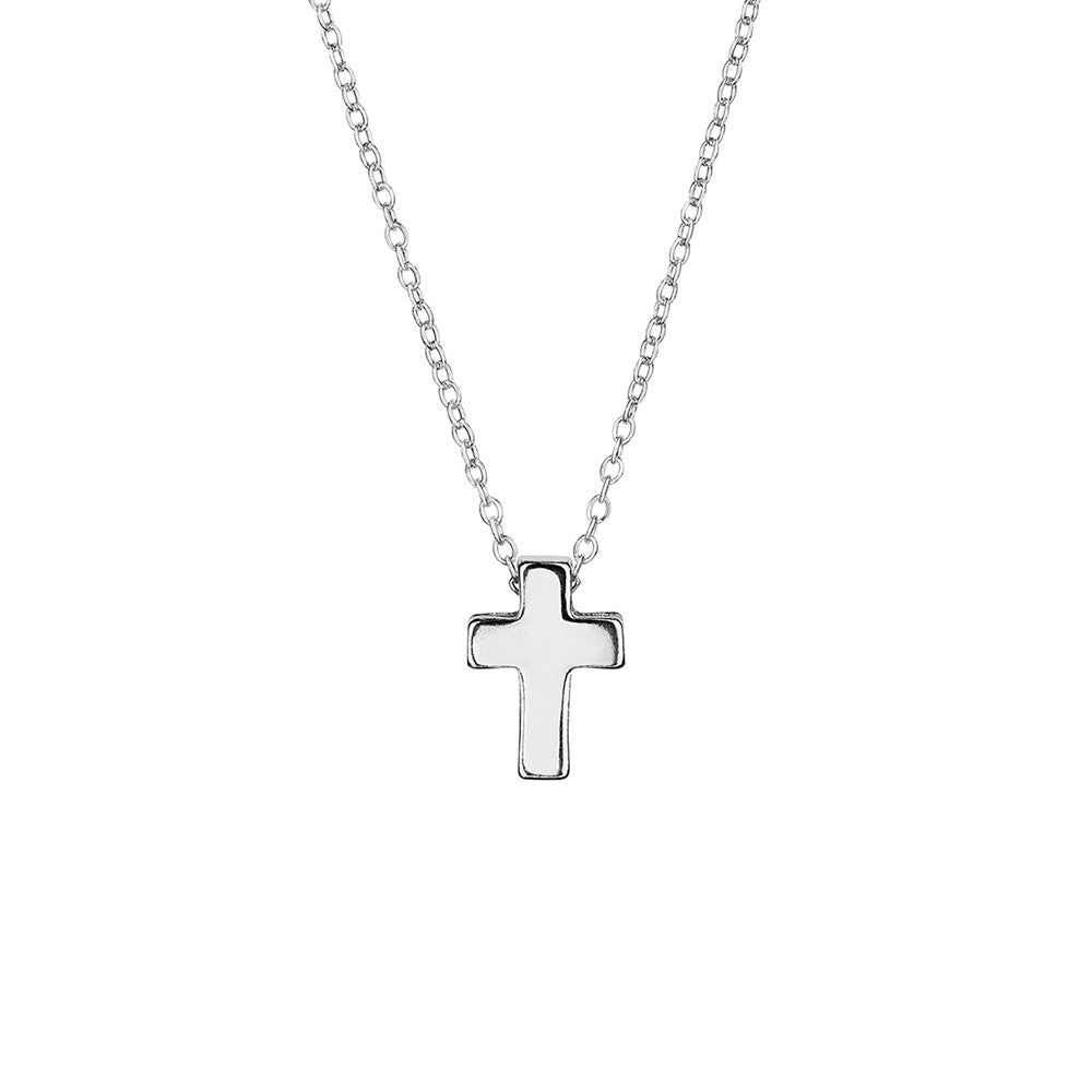 Solid cross on chain