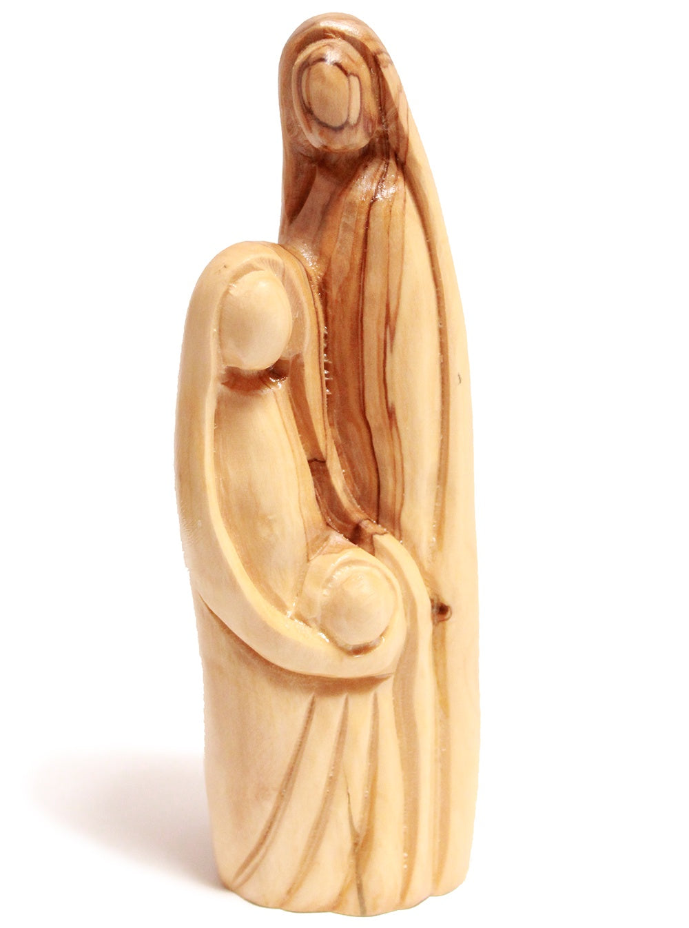 Olive wood holy family