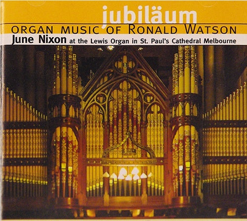 Jubiläum, June Nixon, organ CD