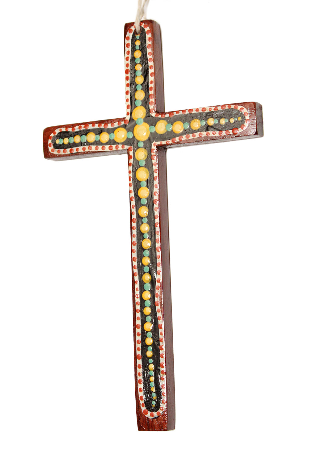 Robyn Davis wall cross black/yellow