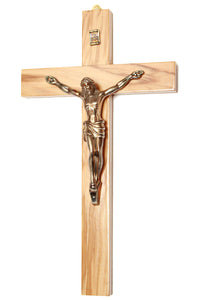 Olive wood wall cross