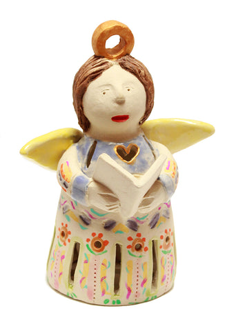 Ceramic angel bell