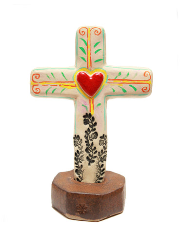 Ceramic standing cross