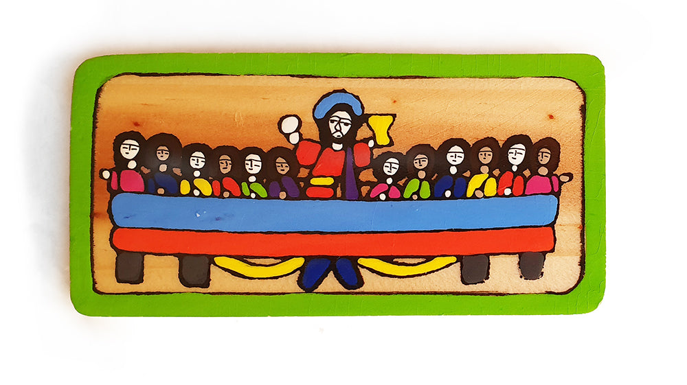 Tiny El Salvador Last Supper