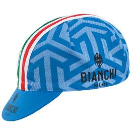 Bianchi Milano Neon Summer Cap - Patterned-Celeste-Italia - Classic Cycling