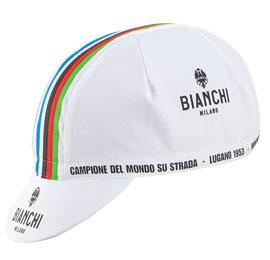 Bianchi Milano Neon Summer Cap - White-WC - Classic Cycling