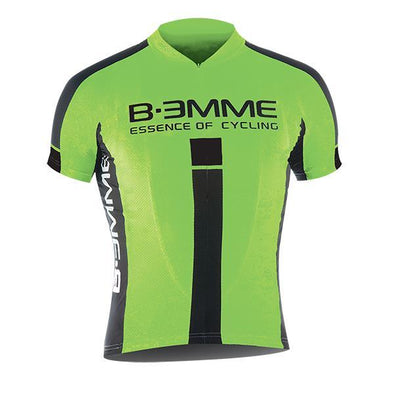 Biemme Identity Short Sleeve Jersey - Green - Classic Cycling