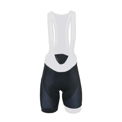 Biemme Italia Bib Shorts - Black-White - Classic Cycling