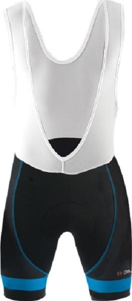 Biemme Moody 14 Bib Shorts - Black- Blue - Classic Cycling