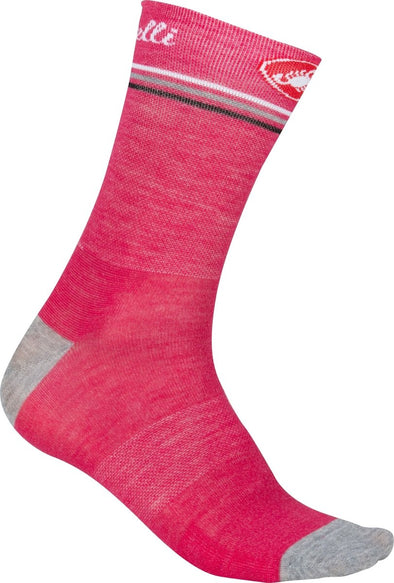 Castelli Atelier Sock - Pink - Classic Cycling