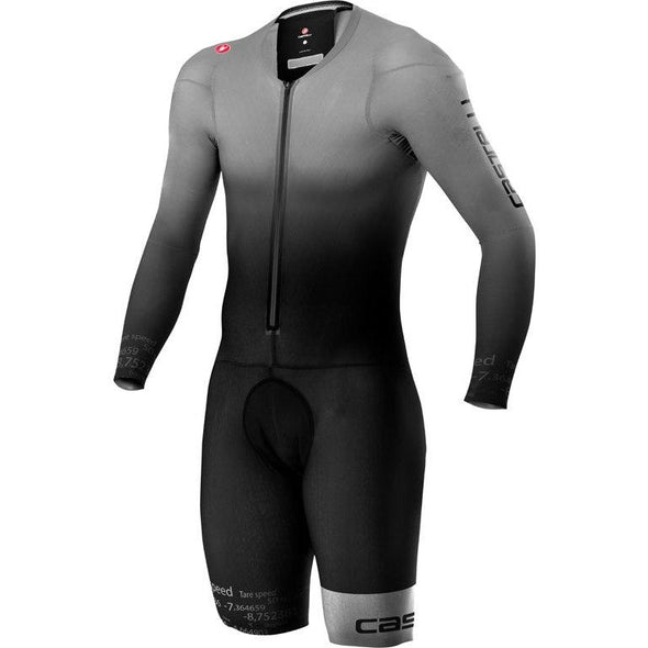Castelli Body Paint 4.x Speed Suit LS - Silver Gray - Classic Cycling