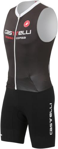 Castelli Body Paint Tri Suit Sleeveless - Black - Classic Cycling