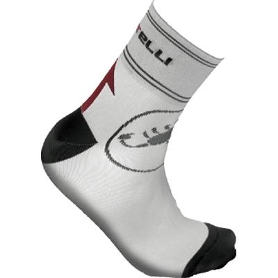 Castelli Circuito Cycling Sock 6cm - White - Classic Cycling