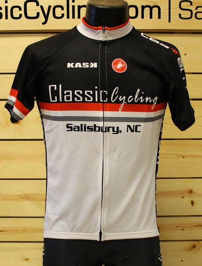 Castelli Classic Cycling Jersey - White - Classic Cycling