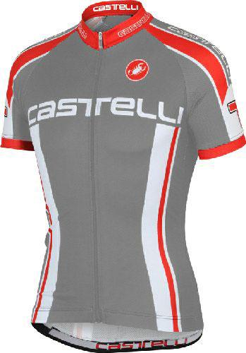 Castelli Cycling Jersey - Aprile Anthracite - Classic Cycling