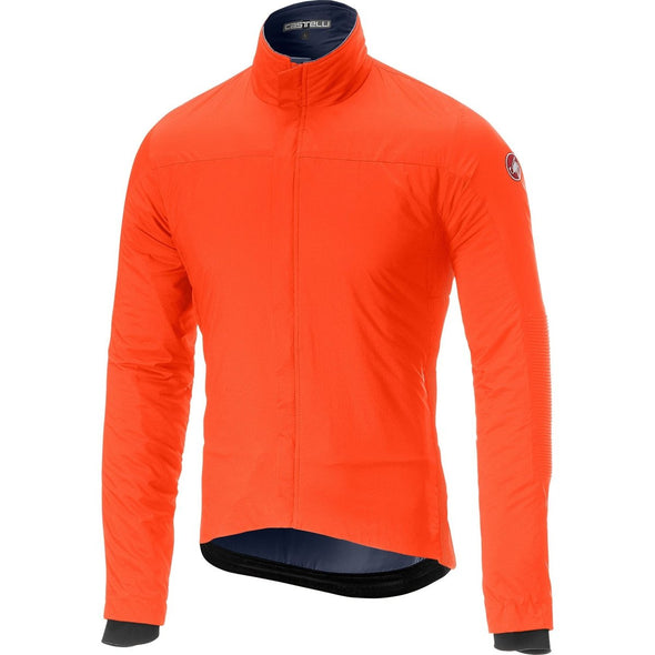 Castelli Elemento Lite Jacket - Orange - Classic Cycling