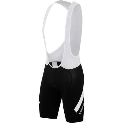 Castelli Endurance X2 Bib Short Black White - Classic Cycling