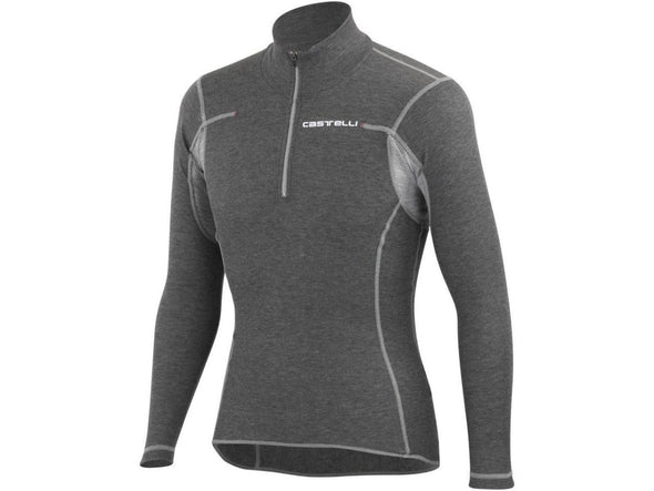 Castelli Flanders Warm Zip Base Layer - LS - Classic Cycling