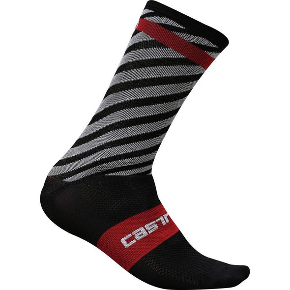 Castelli Free Kit 13 Sock - Black - Classic Cycling
