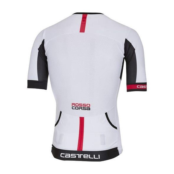Castelli Free Speed Race Jersey - White - Classic Cycling