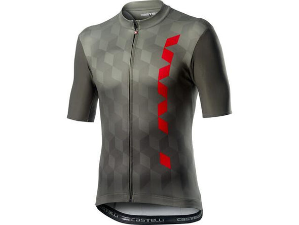 Castelli Fuori Jersey - Forest Gray - Classic Cycling