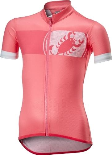 Castelli Future Racer Kid Jersey - Pink - Classic Cycling