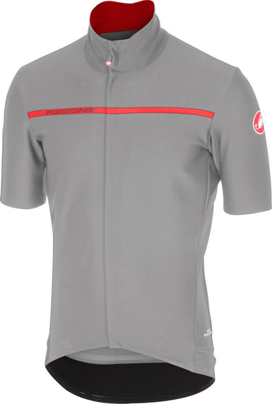 Castelli Gabba 2 Short Sleeve Jacket -  Luna Gray - Classic Cycling
